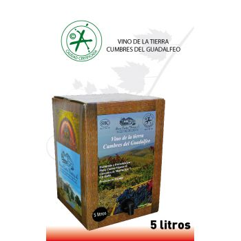 Bag-in-Box Tinto 5 Litros