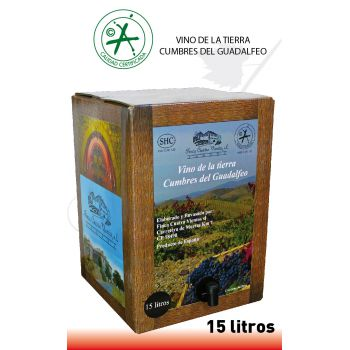 Bag-in-Box Tinto 15 Litros
